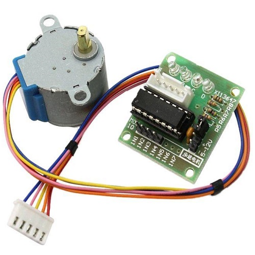 Small Stepper Motor With Driver Board